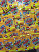 200 Lego Create the World Cards - 50 packs of 4 - Yellow Pack for Sainsbury's collectors album