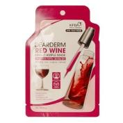 [Korean Cosmetics] DearDerm Red Wine Bright Ample Mask 25ml/23g (1 Sheet Mask) by DearDerm