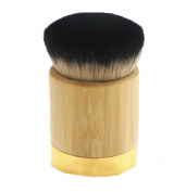 Sunsee Bamboo Powder Foundation Brush Goat Hair Powder Makeup Brushes