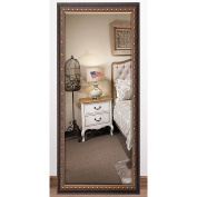 Rayne Mirrors US Made Traditional Cameo Bronze Bevelled Full Body Mirror 30 x 63.5