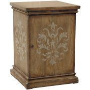 Sofaweb.com Hand Painted Distressed Honey Brown Finish Accent Chest