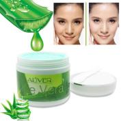 Hunputa Aloe Vera Gel,Aloe Vera Collagen Face Cream - Anti Ageing Korean Beauty Face Mask - Deeply Moisturising, Rejuvenating, Toning, Acne & Blemishes Reducing