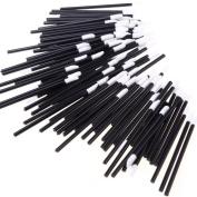 By Bike B38 100PCS Disposable MakeUp Lip Brush Lipstick Gloss Wands Applicator Make Up Tool