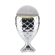 Lalago Mermaid Makeup Brush Foundation Brush Beauty Cosmetic Tools Face Powder Brushes