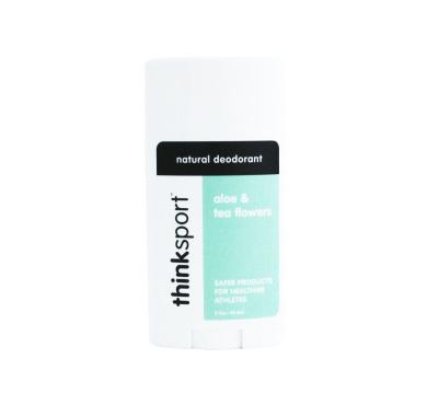 thinksport Deodorant, Green/White/Black, Aloe and Tea Flowers, 90ml