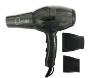 Quad Power 4400 Ceramic & Ionic Professional Hair Dryer, Titanium, Made in Italy