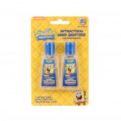 Nickelodeon Spongebob Antibacterial Hand Sanitizer with Moisturisers Berry Splash Travel Size (24 PACK