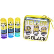 Despicable Me Townley Girl 3 Super Sparkly Lip Gloss Set for Girls with 3 Yummy flavours