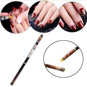 MOPRETTY New Design Nail Tool Rhinestone Picker Wax Pencil Nail Art Dotting Pen 1PC
