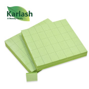 Karlash Premium Disposable Nail Buffers Green 140 pc per Pack