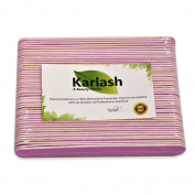 Karlash Premium Mini Nail Files Purple 50 pc per Pack