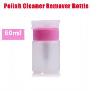Interesting 2Pcs 150ML Pump Polish Dispenser Empty Bottle Nail Art Water Storage Supplies