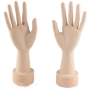 Luxwig Flexible Mannequin Hand Nail Display Practise Manicure Nails Hand for Fake Nail Art Starter Training