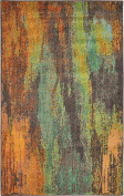 Abstract 0.9m by 1.5m (0.9m x 1.5m) Barcelona Multi Area Rug