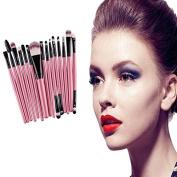 By Bike B2 20pcs/set Makeup Brush Set tools Make-up Toiletry Kit Wool Super Make Up Brush Set