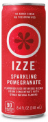 IZZE Fortified Sparkling Juice, Pomegranate, 250ml Cans
