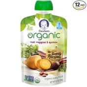 Gerber 2nd Foods Root Veggies and Quinoa Baby Food, 100ml -- 12 per case.