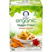 Gerber Graduates Organic Veggie Crisps, Orange, 10ml