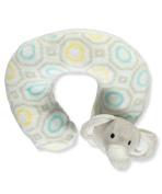 "Cribmates Baby Boys' ""Elephant Fun"" Neck Pillow - grey, one size"