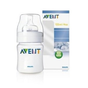 Avent Polypropylene BPA Free 120ml Baby Bottle
