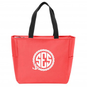 Anchor Rope Monogrammed Tote
