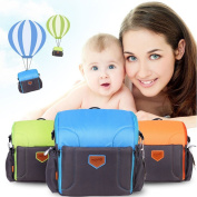 GrowRight Portable Multifunctional Baby Infant Travel Booster Seat / Shoulder Backpack Nappy Bag -