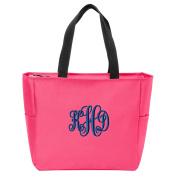 Embroidered Monogrammed Tote