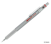 Rotring 600 mechanical pencil 0.5mm silver 1904445