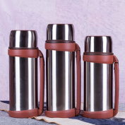 Axiba- Stainless Steel Thermos Portable Insulated Water Bottle Double Wall Design Tea Cup Travel Mug,1500ml