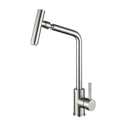 GFEI Kitchen washing basin, hot and cold faucet, faucet /304, stainless steel sink, faucet can rotate
