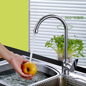 GFEI Vegetables in the kitchen sink tap tap / copper rotating and single hole sink pool basin bucket