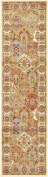 0.9m by 3m (0.9m x 3m) Runner Agra Cream Area Rug