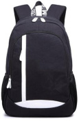 YANFEI Fashion Lightweight Travelling Backpacks Man and Woman Student Leisure High Capacity Breathable , black