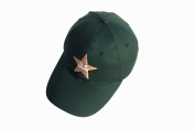 HIGH QUALITY CRICKET BASEBALL STYLE CAP PAKISTAN LOGO MENS ADJUSTABLE CLOSURE