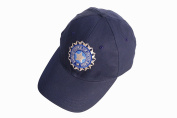 HIGH QUALITY BASEBALL STYLE CRICKET CAP WITH INDIA LOGO ADJUSTABLE CLOSURE