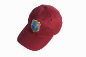 CRICKET CAP BASEBALL STYLE WITH WEST INDIES LOGO MENS AJUSTABLE CLOSURE