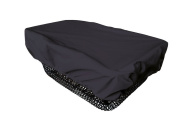 NICE 'N' DRY Cover for front and rear Bike Basket - black