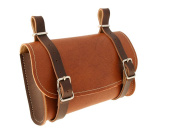 Imitation Leather Seatpost Tool Bag for Bicycle 3251, Brown