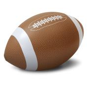 GoFloats 0.9m Giant Inflatable Soccer Ball - Made From Premium Raft Grade Vinyl, black & White, 0.8m