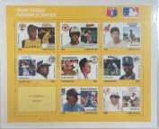 Imperial Mint Grenada- Major League Baseball Stamp- sheetlet of 9