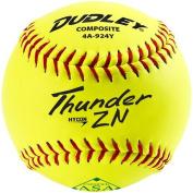 Dudley 28cm Thunder Hycon ZN ASA Composite Slowpitch Softball