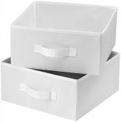 Honey-Can-Do SFT-01239 Hanging Closet Organiser, White, 8-Shelf