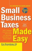 Small Business Taxes Made Easy, Third Edition [Audio]