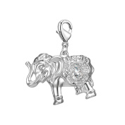 Elephant Charm in Gift Pouch
