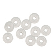 FashionScences 10 x Silicone Rubber Ring Stoppers fit Pandora Style Charm Bracelets Charms Beads Sale