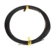12 m Aluminium Wire Beading Wire Craft Flexible Aluminium Wire 1 mm Black C111