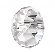 15 Glass Beads Czech Crystal Beads 10 mm Rondell Beads X133