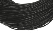 Leather Strap Leather Cord Jewellery Making Cord Black 5 m Thickness 1 mm New C26