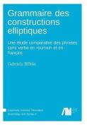 Grammaire Des Constructions Elliptiques [FRE]