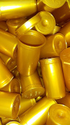 30 x Gold 19 Dram Pack of Philips Premium Pop Top Medical Grade Vial Containers
